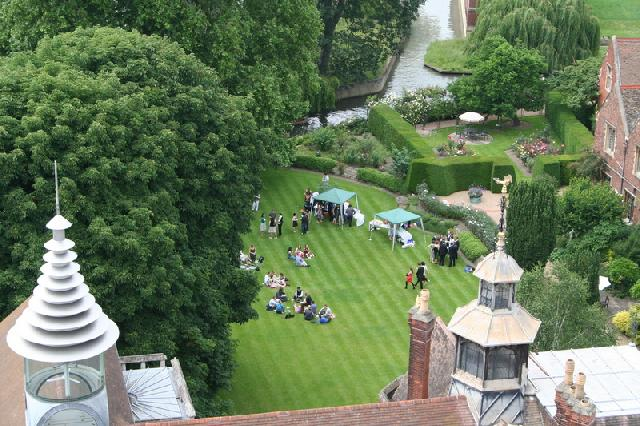 SBR Garden Party in the Master's Garden